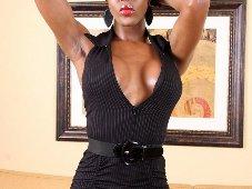 Little Black Shemale Dress