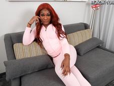 Pink Jumpsuit Big Booty Tgirl Lauren