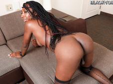 Jada Dickens Big Booty Ebony Tgirl Babe