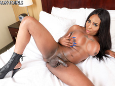 Megan Porter Hot Black Tgirl Booty Hotel