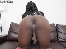 Ana Andrews Hung Black Tgirl Superstar