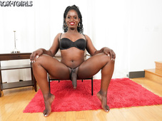 Ana Andrews Hung Black Tgirl Star