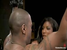 Black Thug taught a Lesson by Natassia Dreams