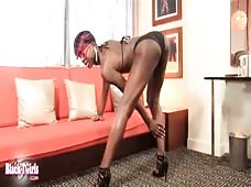 Funky Black Shemale Booty
