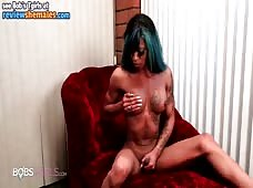 Salina Samone Hot Dark Shecock