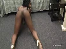 Black Tgirl Hot Curves Beauty Rose