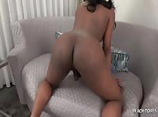 Lea Lipz Xmas Black Tgirls Booty Shake