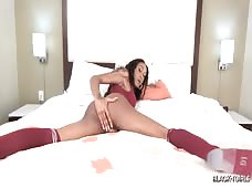 Kayla Biggs Giant Tgirl Black Cock