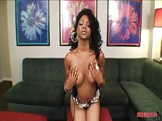 Sheeba Starr Tranny Big Cock Beauty