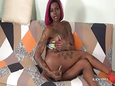 Black Tgirls Casmia Gettens Hung Beauty