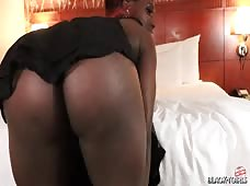 Kandi Girl Big Booty Bedroom Black Tgirl