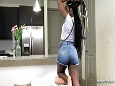 Nubian Barbie Sweet Booty Black Tgirl